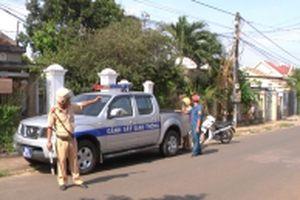 Khởi tố ba đối tượng chém cảnh sát giao thông