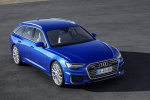 Xe sang Audi A6 Avant 2019 'đối thủ' Mercedes-Benz E-Class Estate