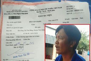 Kỷ luật cảnh cáo đại úy CSGT đạp vào ngực dân ở Cà Mau