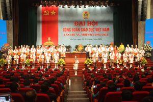 Khai mạc Đại hội Công đoàn Giáo dục Việt Nam lần thứ XV