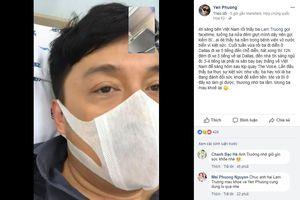 Ca sĩ Lam Trường nhập viện vì kiệt sức