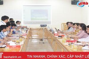 AFD và huyện Thạch Hà thống nhất lộ trình triển khai thực hiện dự án thủy lợi