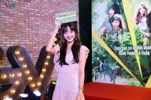 Hotgirl Thái Nene xinh như búp bê trong buổi ra mắt phim của Lý Hải