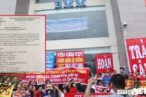 Cư dân BMM biểu tình vì hàng loạt sai phạm của chủ đầu tư: Sở Xây dựng Hà Nội kết luận thế nào?