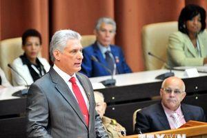 Ông Miguel Díaz-Canel giữ chức Chủ tịch Hội đồng Nhà nước Cuba
