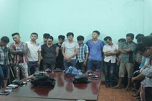 Băng nhóm giang hồ hỗn chiến ở Biên Hòa: Tạm giữ hàng chục đối tượng