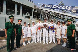 Đội tàu Hải quân Hoàng Gia Australia đến thăm TP.HCM