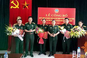 TAQS Thủ đô Hà Nội công bố và trao các quyết định bổ nhiệm chức vụ
