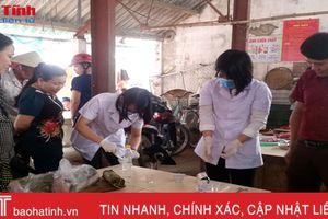 Kiểm tra cơ sở giò chả ở Thạch Châu: Cả 7 mẫu đều nhiễm hàn the