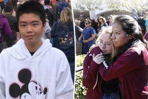 Cậu bé 15 tuổi hy sinh sau khi giữ cửa cho các bạn chạy thoát khỏi vụ xả súng ở trường trung học Mỹ