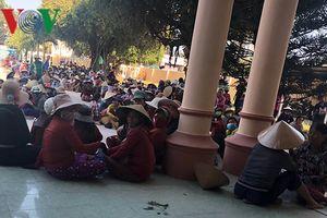 Vì sao hàng trăm người dân tụ tập phản đối dự án điện gió ở Bình Định?