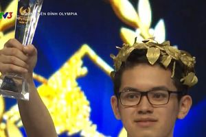 Nam sinh lập kỷ lục 120 điểm vòng Khởi động vào cuộc thi quý Olympia