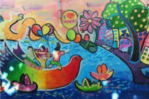 Dự án làng bích họa của nữ Bí thư đoàn phường