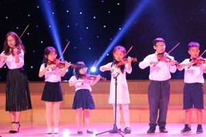 Cực yêu màn biểu diễn của dàn hợp xướng với 200 nghệ sĩ nhí