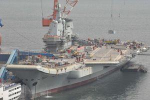 Tàu sân bay thứ 2 của TQ thử nghiệm trên biển tuần này?