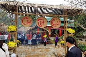 Chùm ảnh: Độc đáo'Chợ Tết xưa' giữa miền di sản