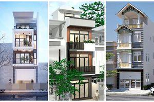10 mẫu nhà phố 4 tầng 900 triệu đồng đáng học tập