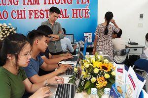 Ra mắt trung tâm báo chí Festival Huế 2018
