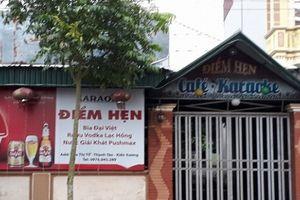 Khởi tố 5 bị can vụ ẩu đả tại quán karaoke khiến 2 người thương vong ở Thái Bình