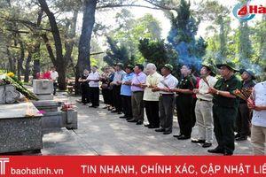 Hội CCB Hà Tĩnh tổ chức về thăm chiến trường xưa, tri ân đồng đội