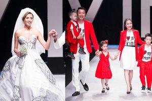 Võ Hoàng Yến mặc váy cưới, thành 'vợ người ta', gia đình Ốc Thanh Vân 'đại náo' sân khấu VIFW ngày cuối