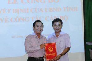 Bổ nhiệm ông Nguyễn Hùng Anh giữ chức Phó Giám đốc Sở TN&MT Sóc Trăng