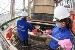 Các nhà máy sôi động không khí sản xuất đầu năm
