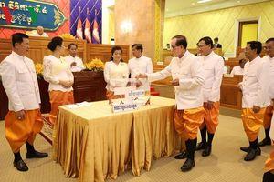 Ông Say Chhum tái đắc cử Chủ tịch Thượng viện Campuchia khóa 4