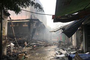 Vụ cháy chợ Quang: Ban quản lý từng bị phạt 3 lần trước khi cháy chợ