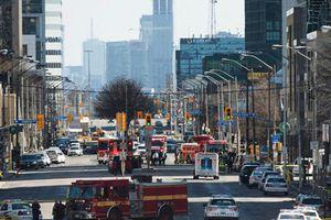Hiện trường vụ đâm xe khiến nhiều người thương vong ở Canada