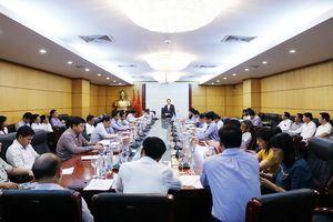 Đảng ủy Bộ Tài nguyên và Môi trường nghiên cứu, quán triệt Nghị quyết Trung ương 7 Khóa XII