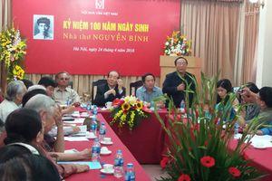 Kỷ niệm 100 năm Ngày sinh nhà thơ Nguyễn Bính