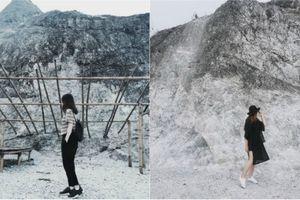 Giới trẻ thích thú với 'núi tuyết trời Âu' ngay gần Hà Nội
