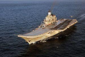 Khám phá uy lực tàu sân bay duy nhất của Nga