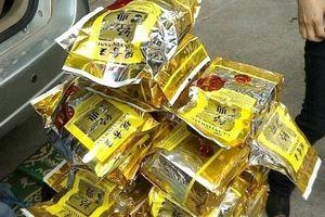 Phát hiện 30kg ma túy ngụy trang trong các túi chè
