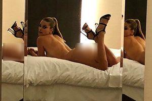Bạn gái cũ tài tử Leonardo DiCaprio bị chỉ trích vì ảnh nhạy cảm