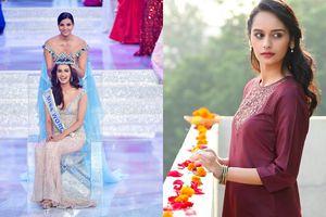 Nhan sắc hút hồn của người đẹp Ấn Độ vừa nhận vương miện Hoa hậu Thế giới