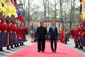 Uy nghiêm lễ đón lãnh đạo Kim Jong-un theo nghi thức vương triều Joseon