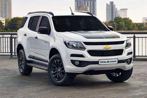 Công bố giá bán xe Chevrolet Trailblazer tại Việt Nam