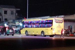 Nghệ An: Xử phạt hàng chục xe khách đi sai hành trình