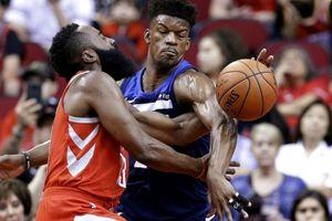NBA 2017-18, Houston 120-108 Minnesota: Butler chấn thương nghiêm trọng, bầy sói thua lần 3