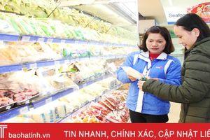 4 tháng, tổng mức bán lẻ hàng hóa của Hà Tĩnh tăng 6,68%
