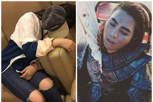 Fan xót xa khi chứng kiến thần tượng kiệt sức đến ngủ quên trên phim trường