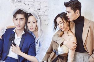 Trương Hàn - Trương Quân Ninh cực đẹp đôi trong loạt ảnh quảng bá phim 'Huyền của Ôn Noãn'