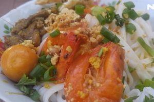 Mì Quảng Phú Chiêm, món quê nức tiếng