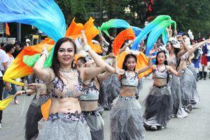 Sôi động lễ hội đường phố Festival Huế 2018
