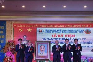 Công ty Than Quang Hanh - TKV : 15 năm biến thách thức thành cơ hội