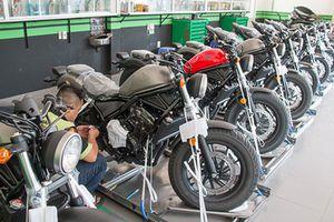 'Đập thùng' dàn môtô Honda Rebel 500 giá rẻ tại Việt Nam