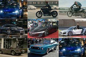 Những xe khủng trong 'Vũ Trụ Điện Ảnh Marvel'