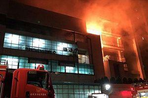 Hơn 1.000 lao động Việt làm tại công ty Đài Loan bị cháy